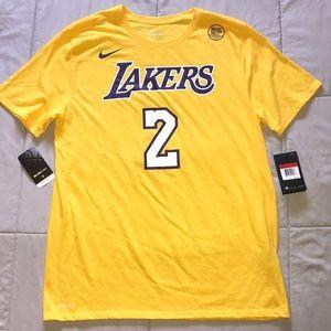 NWT, Nike DriFit Cotton Tee -Ball #2/Lakers